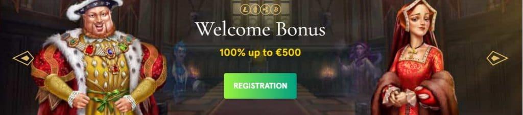 screenshot casinia bonus